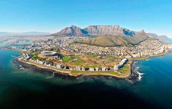 Капские горы в Южной африке