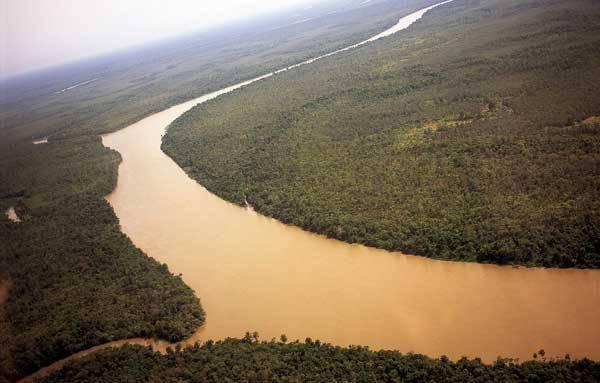Реки Африки