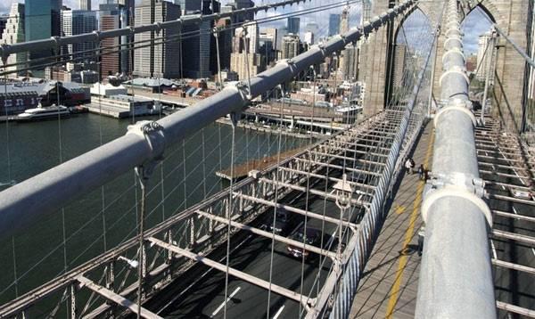 Конструкция Бруклинского моста