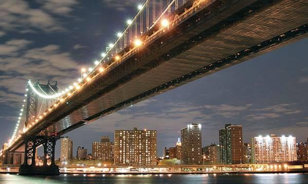 Вид Бруклинского моста