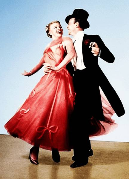 Джинджер и Фред в танце