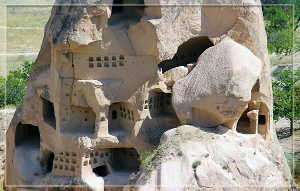 Крепости в Каппадокии