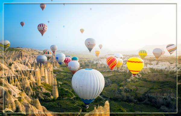 Воздушные шары над Каппадокией