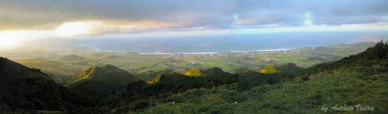Панорама острова Сан Мигел