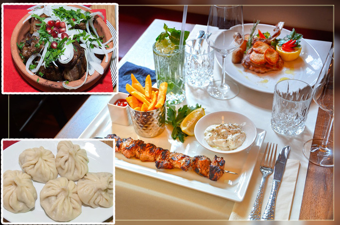 Блюда грузинкской кухни