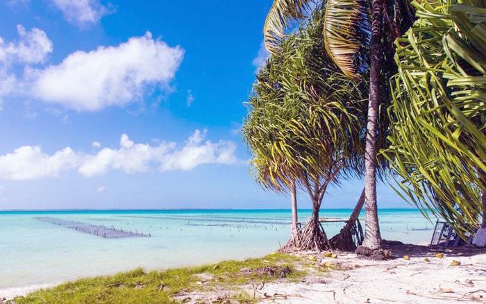 Пляж на Кирибати