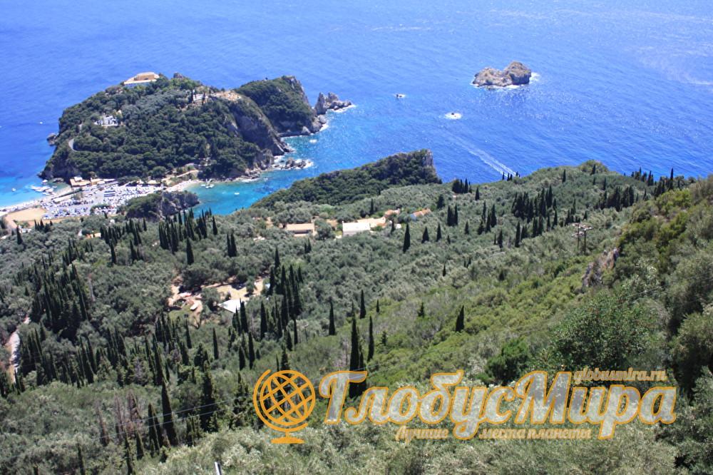 Остров Корфу в Греции