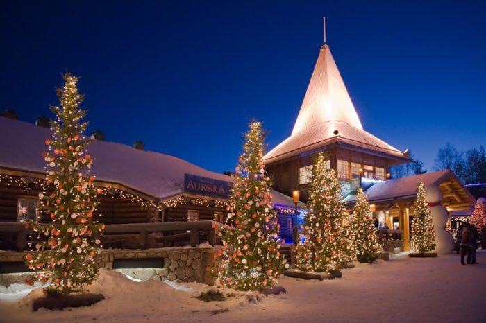 Недорогие новогодние туры в Финляндию из СПб: цены, описание