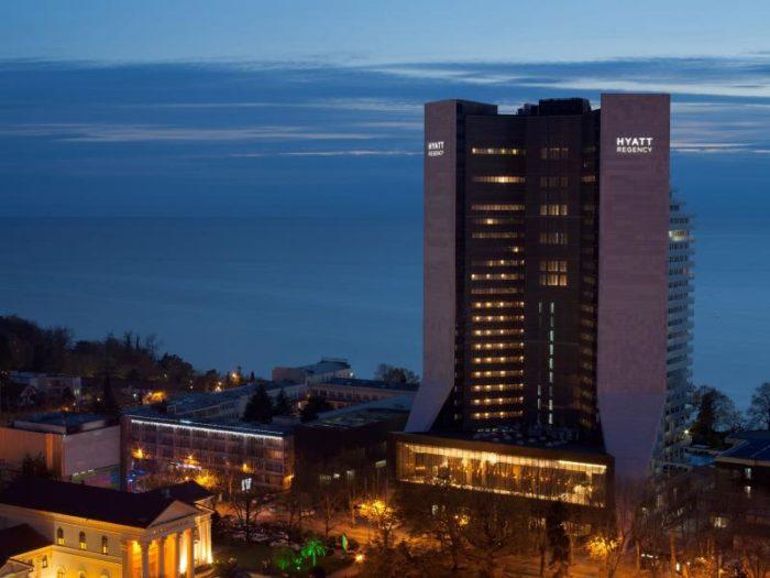 Отмечаем Новый год в Hyatt Regency Sochi
