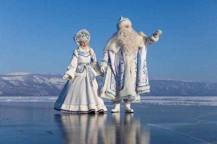 Новый год в России: Байкал