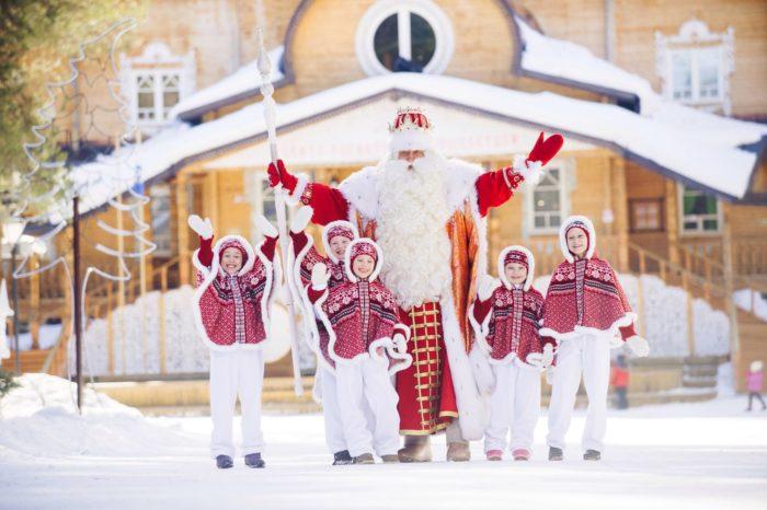 С детьми в Великий Устюг на Новый год