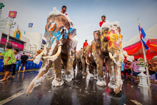 Тайский Новый год или Сонгкран