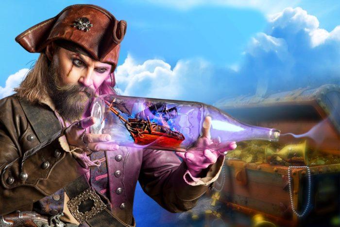 Пираты и корабль-призрак