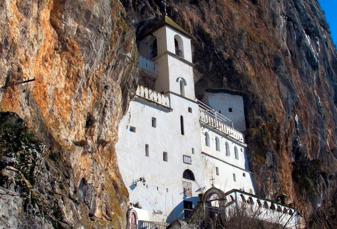 монастырь Острог и Подгорицу