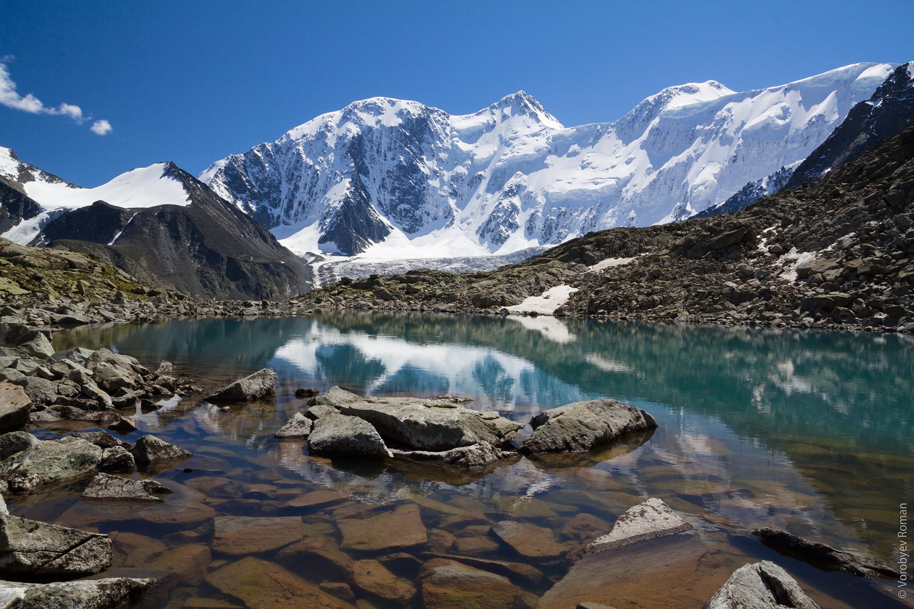 горная вершина Белуха