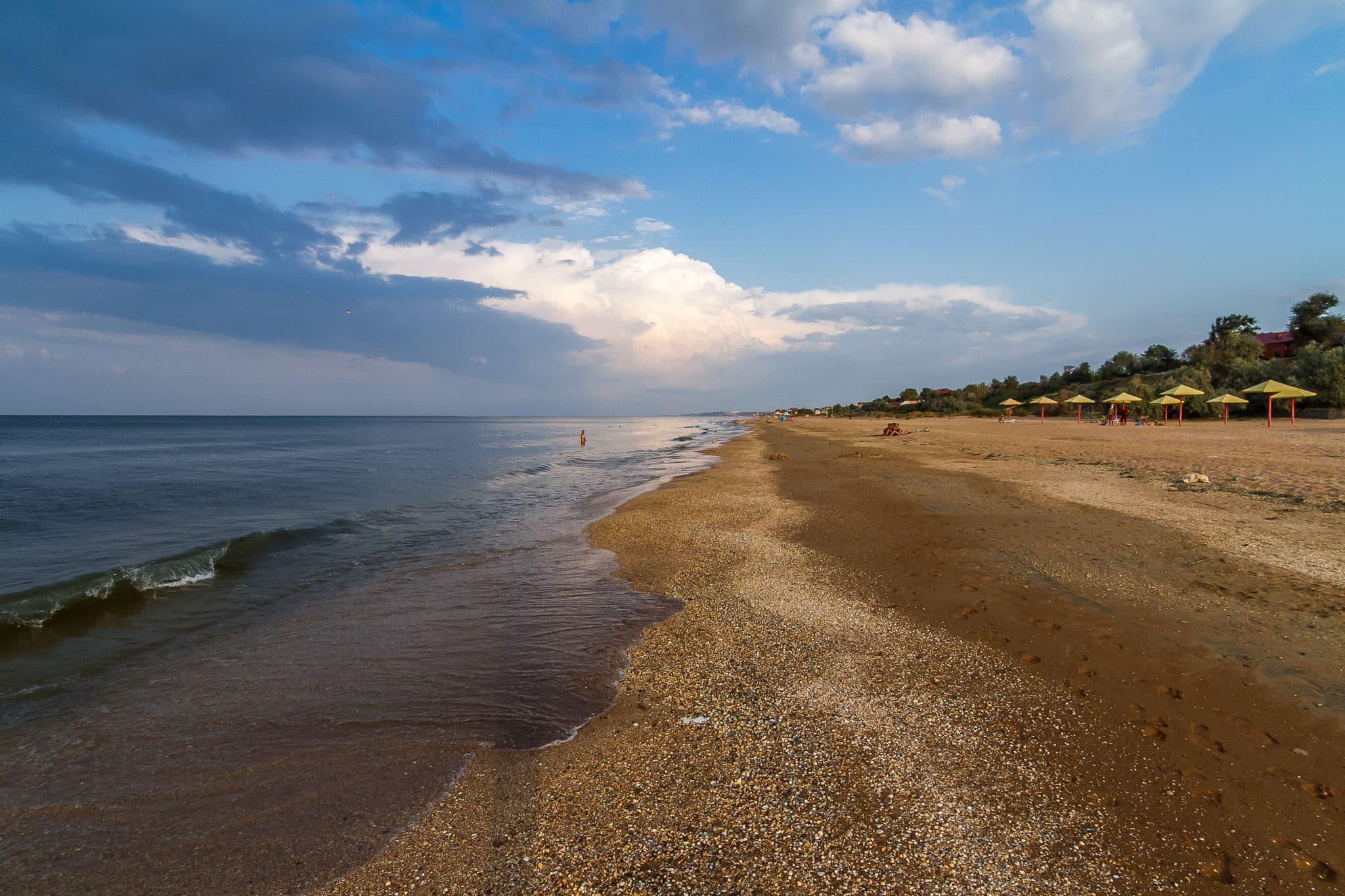 азовское море фотографии пляжа был первый
