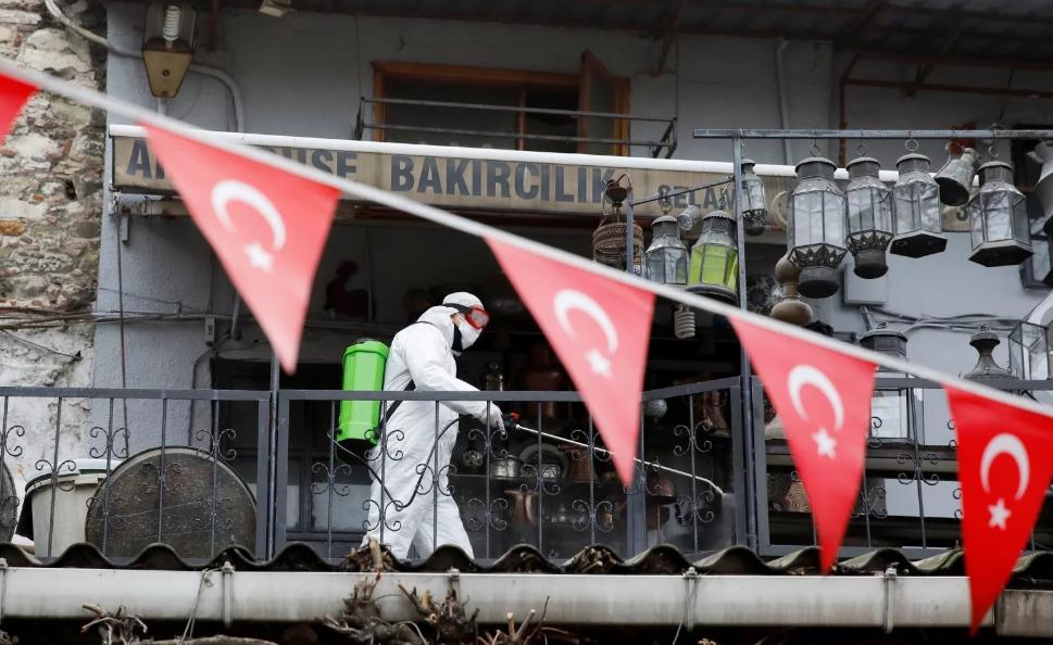 Карантин в Турции